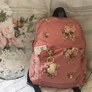 NWT Coach Floral packable backpack